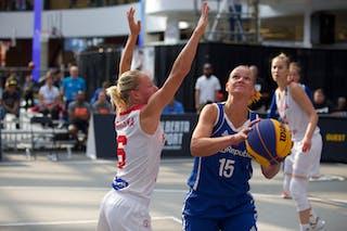 6 Martyna Cebulska (POL) - 15 Andrea Klaudová (CZE)