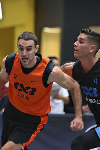 4 Luiz Felipe Soriani (BRA) - 3 Bogdan Dragovic (SRB)