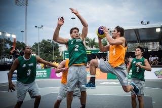 #4 Del'Arco Rodrigo Diguinho, Team Sao Paulo, FIBA 3x3 World Tour Rio de Janeiro 2014, 27-28 September.