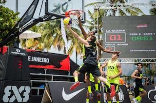 #6 Eidelson Danilo, Team Neuquen, FIBA 3x3 World Tour Rio de Janeiro 2014, 27-28 September.