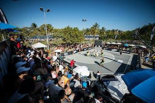 Panorami view 2013 FIBA 3x3 World Tour Rio de Janeiro