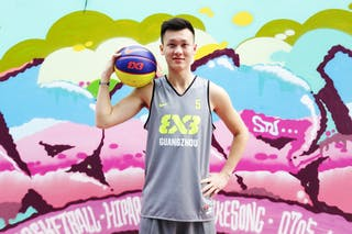 #5 Chen Jia Liang, Team Guangzhou, FIBA 3x3 World Tour Beijing 2014, 2-3 August.