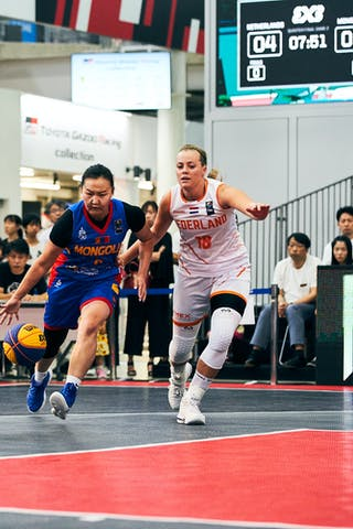 11 Jill Bettonvil (NED) - 9 Ganzul Davaasuren (MGL) - Game1_Mongolia vs Netherlands