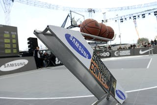 Samsung shoot out contest at the 2013 FIBA 3x3 World Tour final in Istanbul