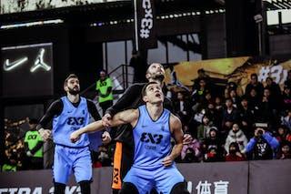 5 Marko Zdero (UAE) - 6 Stefan Kojic (SRB) - 4 Stefan Stojačić (SRB)