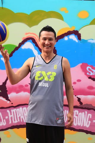 #6 Park Tae Kyung, Team Seoul, FIBA 3x3 World Tour Beijing 2014, 2-3 August.