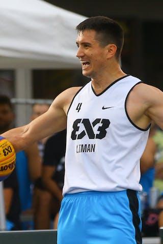 4 Stefan Stojačić (SRB) - Liman vs NY Harlem at FIBA 3x3 Saskatoon 2017