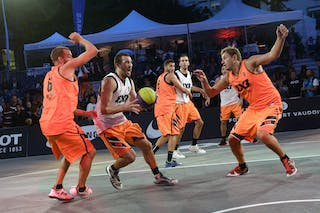 #5 Marin Hrvoje, Team Split, Team Split, FIBA 3x3 World Tour Lausanne 2014, Day 1, 29. August.