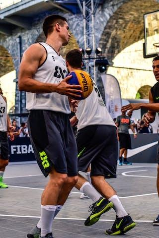 6 Stefan Kojic (SRB) - 5 Aleksandar Ratkov (SRB) - 3 Stefan Stojačić (SRB) - 3 Yunus Yurttagul (TUR) - Liman v Manisa, 2016 WT Lausanne, Pool, 26 August 2016