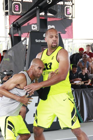 #6 Tavaras Hardy, Team Chi-Town. 2014 World Tour Chicago. 3x3 Game. 16 August. Day 2.