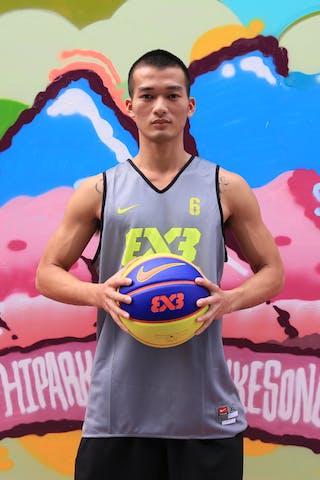 #6 Yao Yao Min, Team Guangzhou, FIBA 3x3 World Tour Beijing 2014, 2-3 August.