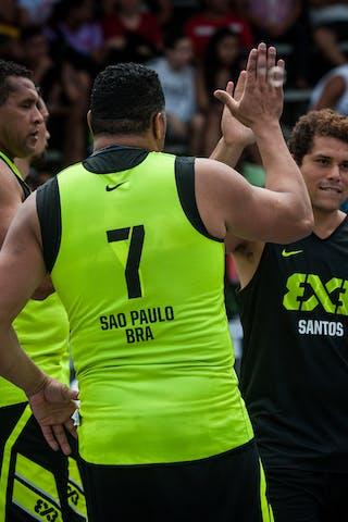 #5 Sarmento Marcellus, Team Santos, FIBA 3x3 World Tour Rio de Janeiro 2014, Day 2, 28. September.
