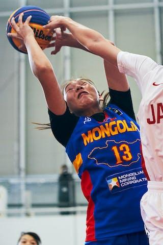 13 Khulan Onolbaatar (MGL) - 16 Todo Nanako (JPN) - Game2_Pool A_Japan U23 vs Mongolia