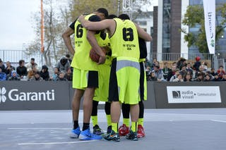 NY Staten (USA)  2013 FIBA 3x3 World Tour final in Istanbul