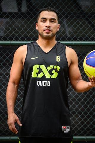 #6 Gaibor Joffre, Team Quito, FIBA 3x3 World Tour Rio de Janeiro 2014, 27-28 September.
