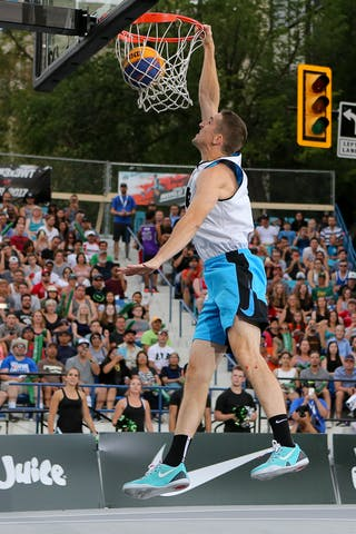 5 Michael Lieffers (CAN) - Slam dunk event at FIBA 3x3 Saskatoon 2017