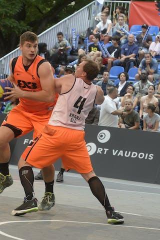 #5 Srebovt Anze, Team Trbovlje, FIBA 3x3 World Tour Lausanne 2014, day 1, 29. August.