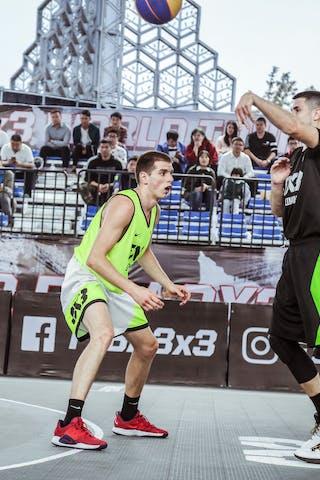 3 Goran Vidovic (CHN) - 6 Stefan Kojic (SRB)