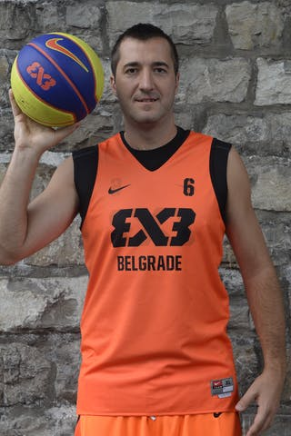 #6 Solujic Aleksandar, Team Belgrade, FIBA 3x3 World Tour Lausanne 2014, 29-30 August.