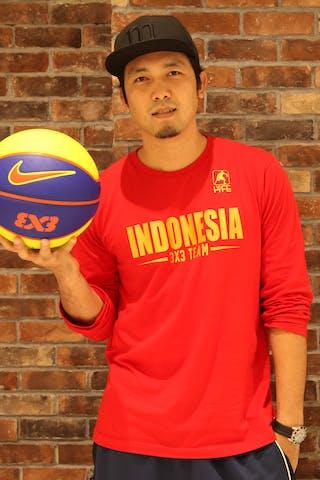 Ponsianus Nyoman Indrawan 3x3 FIBA World Tour 2014 Manila #Surabaya #Indonesia
