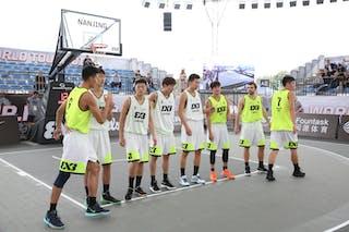 7 Lu Yi Sang (CHN) - 6 Yuan Bo Zhu (CHN) - 5 Nikola Pesic (CHN) - 4 Dongyang Feng (CHN) - 7 Chunnan Yuan (CHN) - 6 Haofeng Rong (CHN) - 4 Jinting Liu (CHN) - 5 Yanru Tao (CHN)