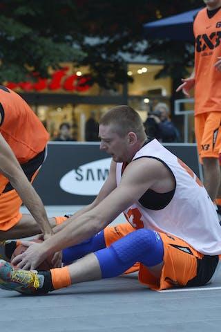 Ljubjana (Slovenia)  Novi Sad (Serbia) 2013 FIBA 3x3 World Tour Masters in Prague