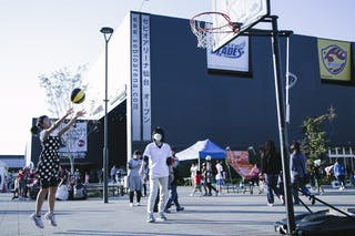 Entertainment, outside of the arena, FIBA 3x3 World Tour Final Tokyo 2014, 11-12 October.