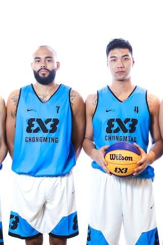 6 Shengjie Gu (CHN) - 7 Cameron D Forte (CHN) - 5 Xiaoheng Liu (CHN) - 4 Zengjie Wang (CHN)