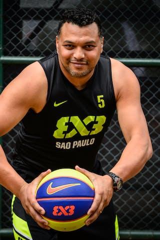 #5 Santos Fabio, Team Sao Paulo, FIBA 3x3 World Tour Rio de Janeiro 2014, 27-28 September.