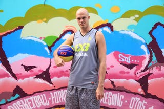 #6 Kyle Matthew, Team Yokohama, FIBA 3x3 World Tour Beijing 2014, 2-3 August.