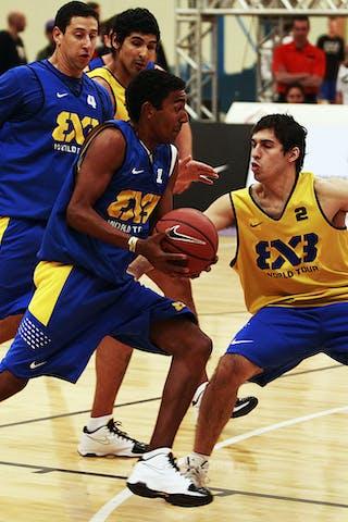 FIBA 3x3 World Tour in Sao Paulo, Brazil. 14 July 2012.