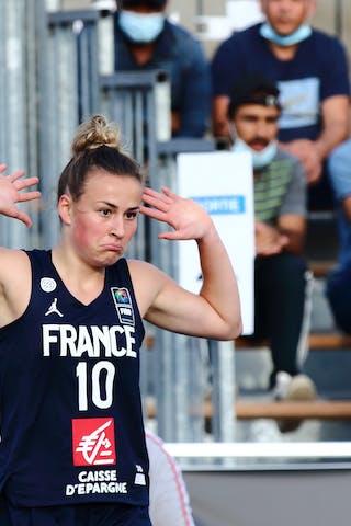 11 Ana Maria Filip (FRA) - 10 Emma Peytour (FRA)