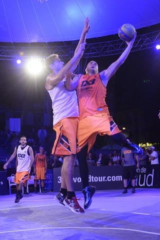 #5 Boskovic Nebojsa, Team Belgrade, FIBA 3x3 World Tour Lausanne 2014, Day 1, 29. August.