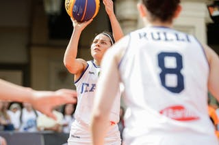 2 Raelin Marie D'alie (ITA) - 8 Giulia Rulli (ITA)