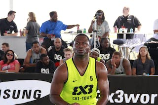#5 Jitim Young, Team Chi-Town. 2014 World Tour Chicago. 3x3 Game. 16 August. Day 2.