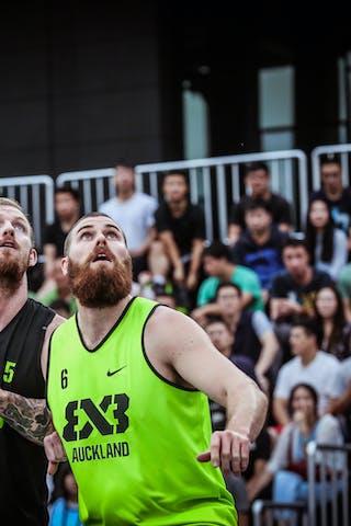 5 Jordan Demercy (CHN) - 6 Karl Noyer (NZL) - Auckland v Wukesong, 2016 WT Beijing, Pool, 17 September 2016