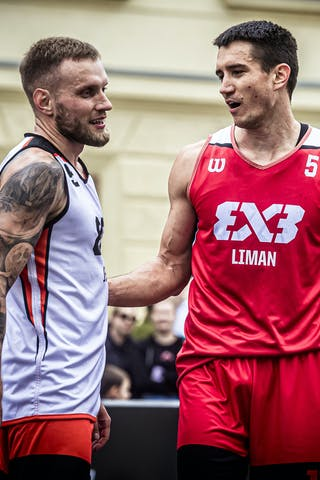 4 Nemanja Draskovic (KSA) - 5 Stefan Stojacic (SRB)