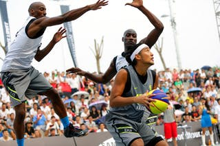 #6 Fukuda Daisuke, Team Nagoya, FIBA 3x3 World Tour Beijing 2014, 2-3 August.