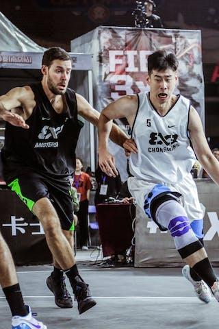 5 Jesper Jobse (NED) - 5 Xiaoheng Liu (CHN)
