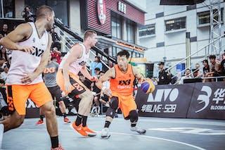 4 Wang Jiayi (CHN) - 6 Dejan Majstorovic (UAE) - 4 Marko Zdero (UAE)