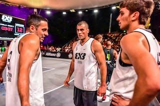 6 Nemanja Draskovic (SRB) - 5 Nikola Vukovic (SRB) - 3 Bogdan Dragovic (SRB) - Zemun v Lausanne, 2016 WT Lausanne, Pool, 26 August 2016