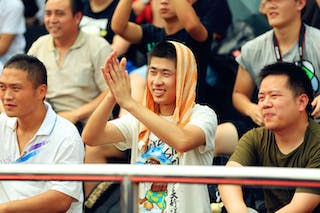 Fans, 2014 World Tour Beijing, 3x3game, 03 August, Day 2.