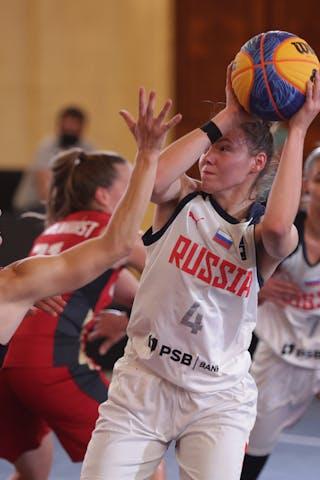 4 Yuliana Samorodova (RUS)