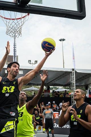 #4 Motta Douglas, Team Rio, FIBA 3x3 World Tour Rio de Janeiro 2014, 27-28 September.