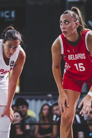 14 Eliana Soriano Gutierrez (ESP) - 15 Maryna Ivashchanka (BLR)