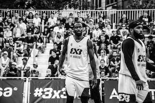5 Dominique Jones (USA) - 4 Marcel Esonwune (USA)