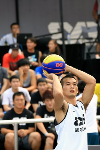 #6 Yao Yao Min, Team Guangzhou, FIBA 3x3 World Tour Beijing 2014, 2-3 August.