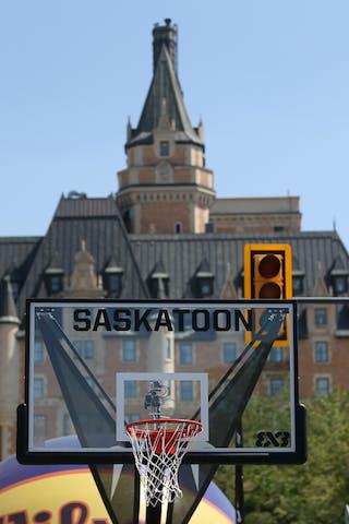 Images outside of game play during the FIBA 3x3 World Tour Saskatoon 2017.