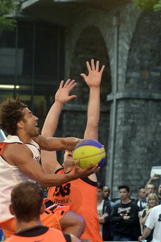 #5 Sadek Farid, Team Dusseldorf, FIBA 3x3 World Tour Lausanne 2014, day 1, 29. August.