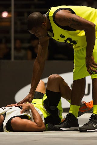 Denver vs Barceloneta at the San Juan Masters 10-11 August 2013 FIBA 3x3 World Tour, San Juan, Puerto Rico